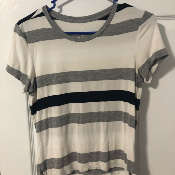 American Eagle Outfitters Tops - Striped T-shirt